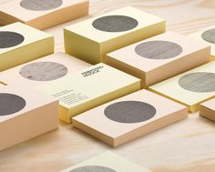 identity for furniture designers Frøystad+Klock, inspired by scandinavian design traditions