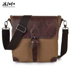 Sky fantasy fashion canvas casual men messenger bag vogue hipster business dress vintage knapsack classic cross-body handbag #Affiliate