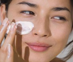 Skin - Apply your products in order from thin to thick consistencies (serum first, moisturizer next, sunscreen last), so skin absorbs all.