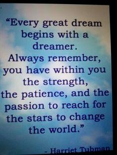 Dreams of a dreamer