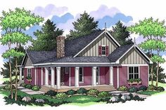 Plan 51-349 - Houseplans.com I love this one.