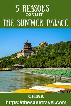 Located about 10 kilometres from the downtown of Beijing, Summer Palace was once the largest imperial garden in China. It is a vast area of lakes, gardens, and palaces dominated by Longevity Hill and the Kunming Lake. Summer Palace was first built in 1750
