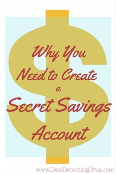 "How many savings accounts do you own? Is one for ""emergencies"" and one for ""saving"" and one ""secret savings""? If not, it is time to create another one."