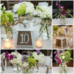 Wedding Centerpieces viburnum