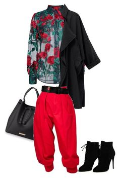 """""""Untitled #118"""" by danilomk on Polyvore featuring Adam Selman, Yves Saint Laurent, Love Moschino and Tom Ford"""