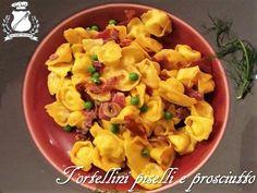 I tortellini piselli e prosciutto sono un piatto classico dell'Emilia Romagna, talmente famoso negli anni 80, tale da diventare ormai un piatto nazionale.