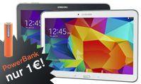 Samsung Galaxy Tab 4 LTE und mobiles Ladegerät PowerBank zum Angebotspreis! Holen Sie sich das Samsung Galaxy Tab 4 10.1 LTE wahlweise in schwarz oder weiß im ROLstore! Und wenn Sie nie mehr mit leerem Akku unterwegs sein wollen, haben Sie jetzt die Chance, die hippe Ladestation PowerBank für nur 1 €* Aufpreis zum Samsung Tab 4 10.1 dazu zu bestellen! Geben Sie einfach diesen Rabatt-Code im ROLstore ein, und schon gehört das mobile Ladegerät Ihnen: ROL-POWERBANK