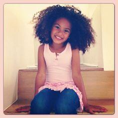 Beautiful little girl ~ Sade Kimora Young