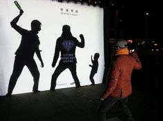Interactive advertisement USING TECHNOLOGY in South Corea with strong goal and message