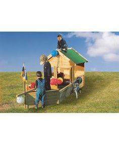 KARIBU Spielschiffanbau »Pirat« für Spielhaus »Hobbit« - Hagebau.de