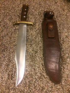 Randall-Knife-Vintage-60-039-s-Model-12-11c-Confederate-Bowie-HEISER-Sheath