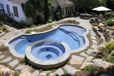 Shotcrete Pools give you the flexibility and creativity for a design as unique as your style.