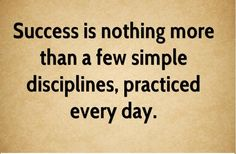 Success is a result, not a goal. #success #result