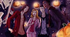 illustration de l'épisode d'halloween  AnticLove