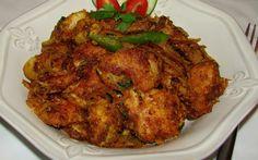 [Indian] Kodi Vepudu (Andhra Chicken Fry) (కోడి వేపుడు, चिकन फ्री)