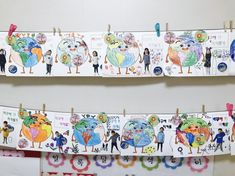 Kindergarten, Gallery Wall, Frame, Crafts, Home Decor, Picture Frame, Manualidades, Decoration Home, Room Decor