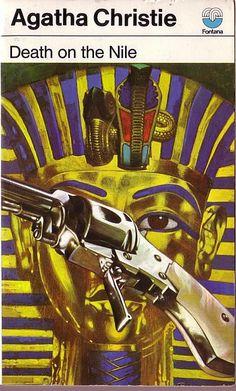 29. 1937. Death in the Nile. Tom Adams. Agatha Christie. book covers
