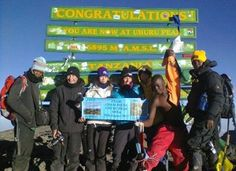 Team Champ-Payne summit to Uhuru Peak 5895m with Private Expeditions!