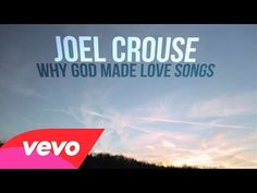 """MUSIC VIDEO: Joel Crouse - """"Why God Made Love Songs"""". (This is pinned on my Wales Board to revive memories for so many of you out there of the times that you will have played Love Songs down at Dinas Dinlle beach at all times of the year !!!)"""