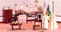 Dolls House Bedrooms - A few clever alterations from dollshouse.com