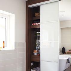 Versteckte Bad Lagerung Wohnideen Badezimmer Living Ideas Bathroom