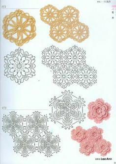 300 (Japanese Motif Crohet Book) - lee ann hamm - Picasa Albums Web