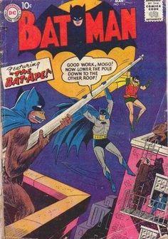 25 Weirdest Batman Covers
