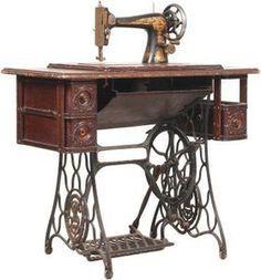 How to Restore Veneer on an Old Singer Sewing Machine