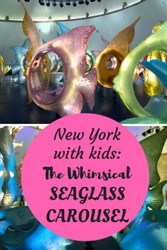 For a unique family experience in New York City, take the kids for a spin on the whimsical Seaglass carousel in Battery Park. Then walk around and enjoy all the views of the harbor and Statue of Liberty. New York City Vacation, New York City Travel, Cruise Vacation, Vacation Destinations, New York Attractions, Kids Things To Do, Nyc With Kids, Battery Park, Travel Reviews