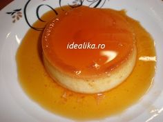 YouTube Romanian Food, Caramel, Pudding, Mai, Desserts, Recipes, Youtube, Sweet Treats, Syrup
