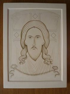 Santa Faz Catholic Crafts, Catholic Art, Byzantine Icons, Byzantine Art, Cartoon Sketches, Albrecht Durer, Religious Icons, Orthodox Icons, Angel Art