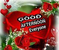 Good Afternoon Everyone