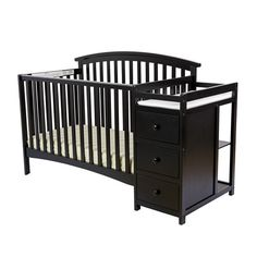 Found it at Wayfair - Niko 5-in-1 Convertible Crib and Changer Combo