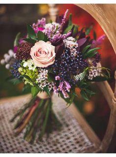 Bouquet de mariee rond
