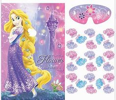 Disney's Tangled Rapunzel Birthday Party Game 2 - 8 Players - New!