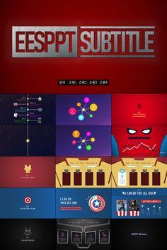 Korean Marvel Fan made Avengers Powerpoint templates Ppt Template, Templates, Disney Music, Song Of Style, Marvel Fan, Flyer Design, Captain America, Iron Man, Avengers