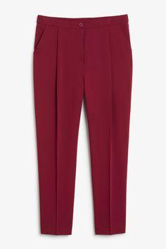 Trousers & shorts - Clothing - Monki FI