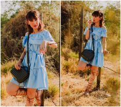 Diana F. - Blue summer dress