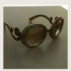 Animal print fashion  round  woman sunglasses Animal print fashion  round  woman sunglasses Accessories Sunglasses