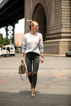 Casual style in NYC