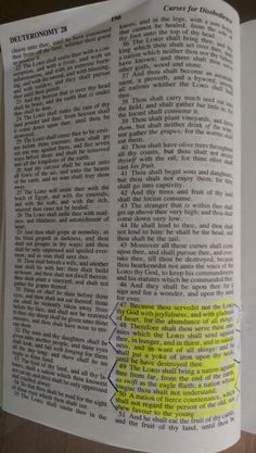 Deut.28-47:50 A Nation of Against Thee.