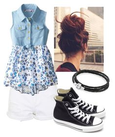 """""""Outfit #6"""" by jey-musicadicted on Polyvore featuring Topshop, Converse and Pandora"""
