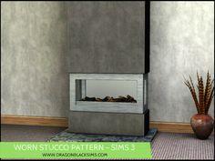 Worn Stucco Pattern - Sims 3 Patterns - Dragon Black Sims