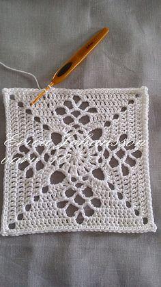 Ravelry: Victorian lattice square - SVENSKA pattern by Erica Johansson