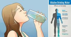 Drink This Alkaline Water to Fight Digestive Problems, Muscle Cramps, Fatigue, Balance pH Levels An alkalized body is most likely
