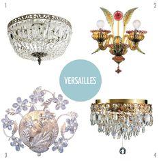 Hva er galt med baderomslamper? Versailles-variantene