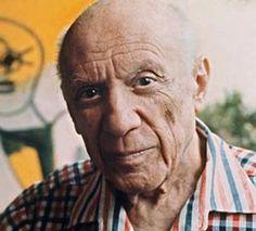 Artista Pablo Picasso revolucionó el arte por el pensamiento abstracto en cubismo durante el siglo XX.
