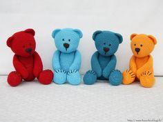 Little Elephant, Crochet Fashion, Crochet Toys, Dinosaur Stuffed Animal, Teddy Bear, Blanket, Pattern, Animals, Umbrellas