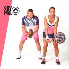 La nueva colección destaca por la amplia gama de colores, desde el flúor a tonos neutros como negro, blanco y azul. ¡Colorea tu mejor jugada! http://beesa.me/27p99 #deporte #sport #pádel #pala #zapatillas #ropa #equipacion #moda