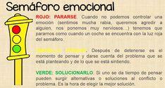 Regulación emocional el semáforo de las emociones
